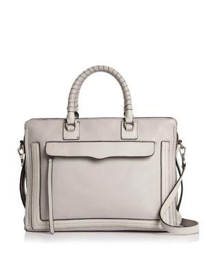 Rebecca Minkoff Bree Large Top Zip Leather Satchel 2829489