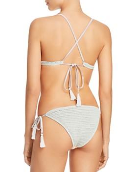 Suboo - Sage Chevron Bralette Bikini Top & Chevron Bikini Bottom