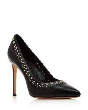 WOMEN'S CERELLA EMBELLISHED POINTED TOE PUMPS