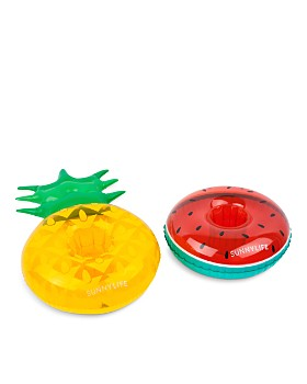 Sunnylife - Fruit Salad Inflatable Drink Holders - 100% Exclusive