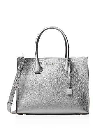 MICHAEL Michael Kors Mercer Convertible Large Leather Tote ... 783ffcc78836a