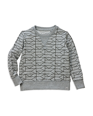 Sovereign Code Boys Geometric Print Sweatshirt  Little Kid Big Kid