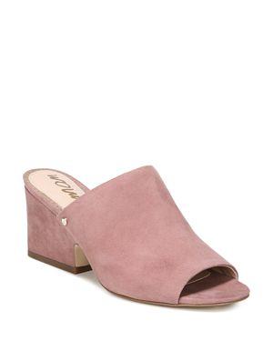 Sam Edelman Women's Rheta Suede Slide Sandals