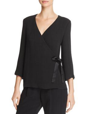 Eileen Fisher Silk Wrap Jacket