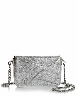Halston Heritage Grace Small Bow Convertible Leather Crossbody 2835807