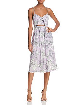 Bardot - Ibiza Cutout Floral Midi Dress - 100% Exclusive