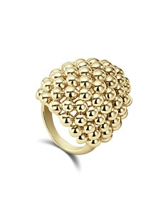 LAGOS - Caviar Gold Collection 18K Gold Dome Ring