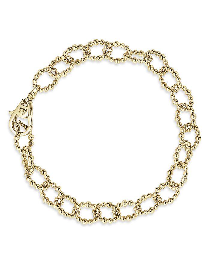 LAGOS - Caviar Gold Collection 18K Gold Link Bracelet