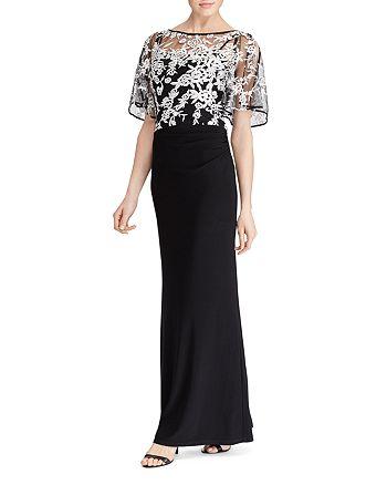 Ralph Lauren - Lace Overlay Gown