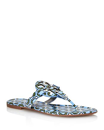 5e49ce81586 Tory Burch - Women s Miller Patent Leather Thong Sandals