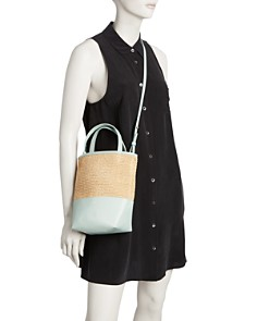 Alice.D - Small Leather Tote - 100% Exclusive