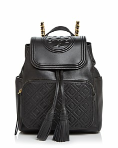 Tory Burch - Fleming Leather Backpack