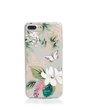 kate spade new york Jeweled Botanical Clear iPhone 7/8 Plus Case