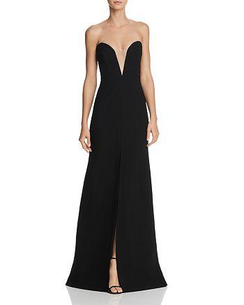 Jill Stuart - Strapless Illusion Gown