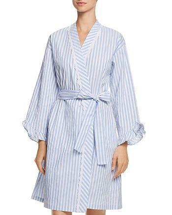 Eileen West - Striped Short Robe