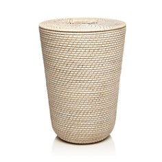 Sparrow x Wren Ernie White-Washed Rattan Laundry Hamper - 100% Exclusive - Bloomingdale's Registry_0