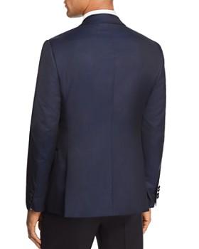 Emporio Armani - Tonal Dotted Slim Fit Tuxedo Jacket
