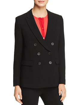 Emporio Armani - Double-Breasted Peak Lapel Blazer