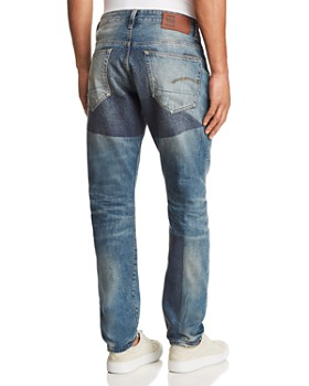 G-STAR RAW - 3301 Prestored New Tapered Fit Jeans in Medium Age