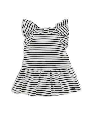 Chloe Girls' Striped Flutter-Sleeve Dress - Baby 2816382
