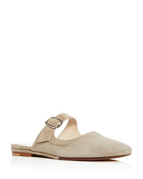 Creatures of Comfort - Women's Lucca Suede Mary Jane Mules