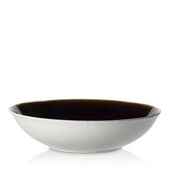 Royal Crown Derby - Art Glaze Clouded Smoke Large Pasta Bowl