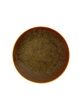 Royal Crown Derby - Art Glaze Pressed Mulberry Salad/Dessert Plate