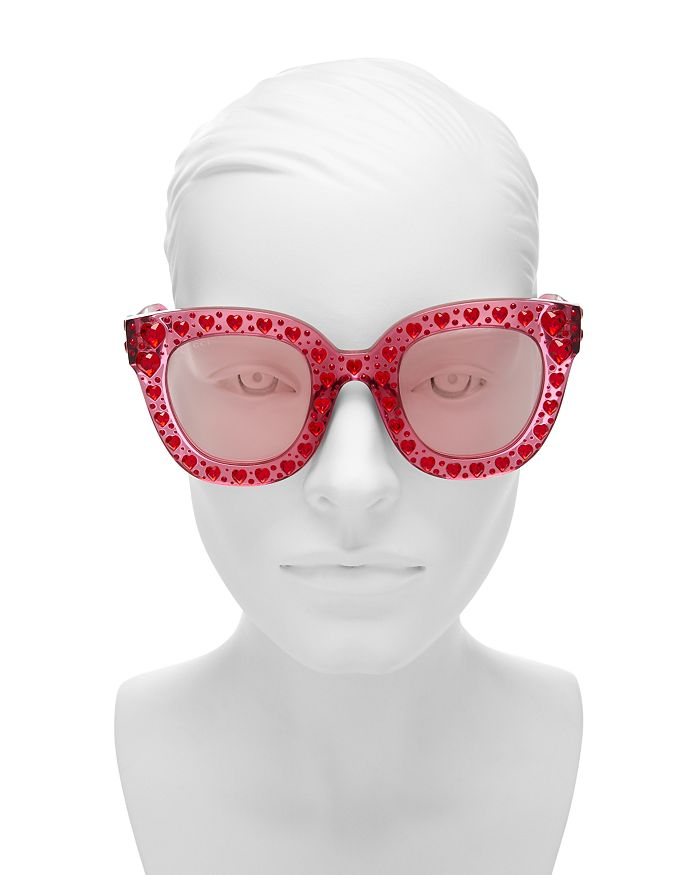 7fc480636444 Gucci - Women s Swarovski Crystal-Embellished Cat Eye Sunglasses