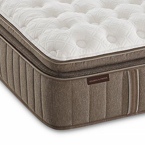 Stearns & Foster - Bridlegate Luxury Plush Euro Pillow Top King Mattress Only