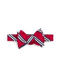 Brooks Brothers Stripe Flower Bow Tie - Bloomingdale's_0