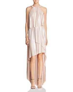 Laundry by Shelli Segal Metallic Pleated Dress 2832705