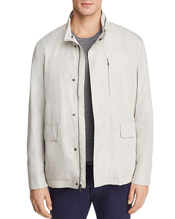 Cole Haan - J540 Mock Neck Rain Jacket