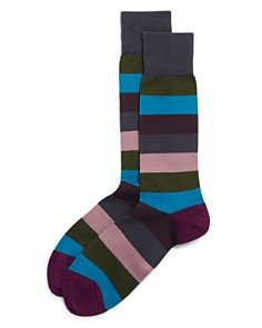 Paul Smith Brixton-Stripe Socks - Bloomingdale's_0