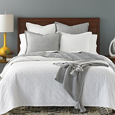 Sky Tile Matelassé Quilted Collection - 100% Exclusive - Bloomingdale's Registry_0