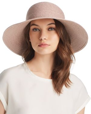 Hampton Squishee Packable Sun Hat, Blush