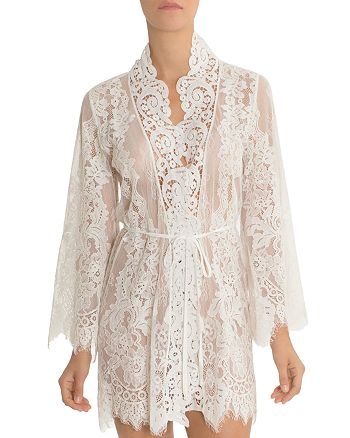 Jonquil - Lace Wrap Robe