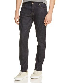 Double Eleven - Straight Fit Jeans in Dark Indigo
