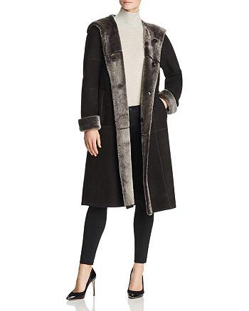 Maximilian Furs - Brissa Reversible Lamb Shearling Coat - 100% Exclusive