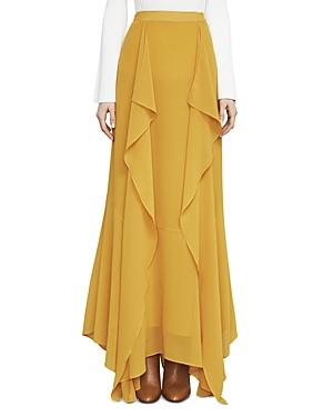 Bcbgmaxazria Amalli Ruffled Maxi Skirt