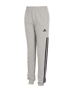 Adidas Boys Striped Joggers  Big Kid