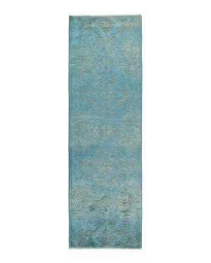 Solo Rugs Vibrance Runner Rug, 3'2 x 10'1