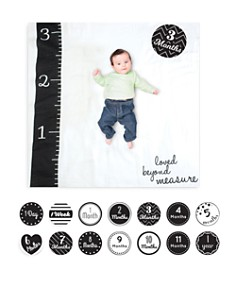 Lulujo Loved Beyond Measure Baby Blanket & Age Cards Set - Bloomingdale's_0