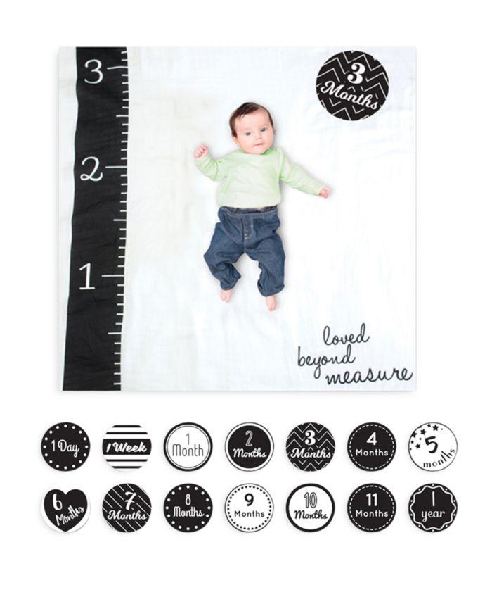 Lulujo Loved Beyond Measure Baby Blanket & Age Cards Set    Bloomingdale's