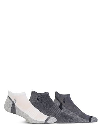 Polo Ralph Lauren - Athletic Feed Stripe Low-Cut Socks, Pack of 3