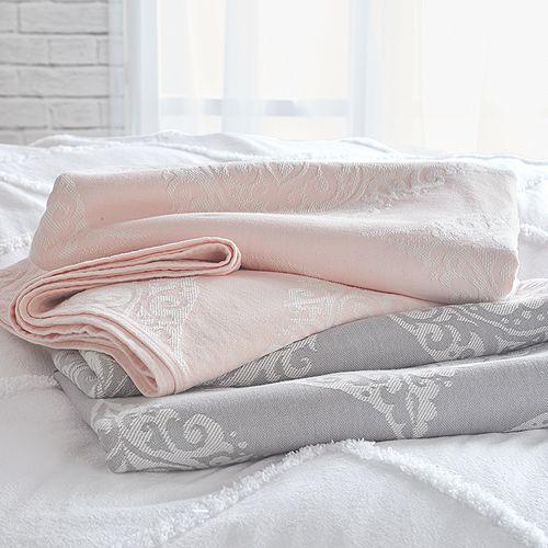 Peri Home - Woven Damask Blanket
