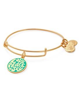 Alex and Ani - Love Peace Joy Expandable Bracelet
