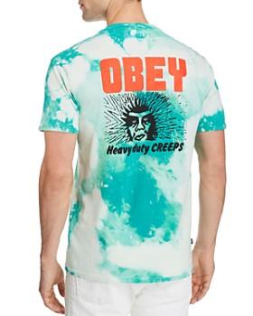 OBEY - Heavy Duty Creeps Tie Dye Short Sleeve Tee