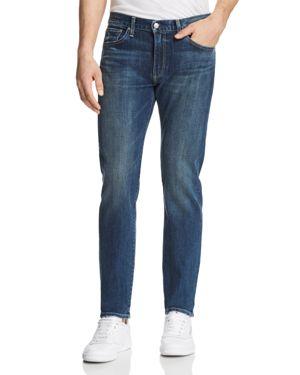 S.M.N STUDIO Hunter Standard Slim Fit Jeans In Odyssey in Medium Blue