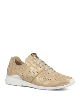 UGG® - Women's Tye Stardust Leather Lace Up Sneakers
