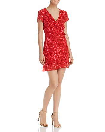 Bardot - Open-Back Polka Dot Dress